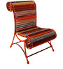 Athena Chair In Shades of Tangerine by Sahil Sarthak Designs