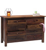 Maritsa Chest of Eight Drawers in Provincial Teak Finish by Woodsworth