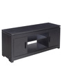 Atlas TV Stand in Black Colour by Royal Oak