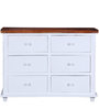 Augusta Chest of Drawers Dual Tone Finish by Amberville