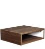Aura Wall Hung Bedside Table in Acacia Dark Matt Finish by Debono