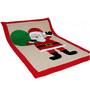 Aurraa Santa Cotton Quilt in Red Colour