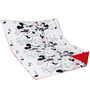 Aurraa Mickey and Minie Cotton Quilt in White Colour