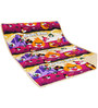 Aurraa Angry Bird Cotton Quilt in Red Colour