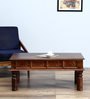 Avagraha Coffee Table in Provincial Teak Finish by Mudramark