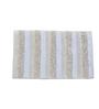 Avira Home Beige 100% Cotton 20 x 33 Bath Mat
