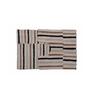 Avira Home Beige and Brown Cotton 20 x 30, 20 x 20 Bath Mat - Set of 2