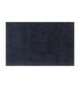 Avira Home Black Cotton 18 x 30 Bath Mat - Set of 2