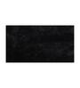 Avira Home Black Microfiber 20 x 30 Bath Mat