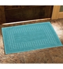 Avira Home Blue 100% Cotton 20 x 30 Bath Mat