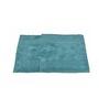 Avira Home Blue Cotton Bath and Toilet Mat - Set of 2