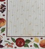 Avira Home Celebration Multicolour Cotton & Polyester Table Runner & Placemats - Set of 7