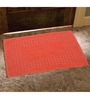 Avira Home Orange 100% Cotton 20 x 30 Bath Mat