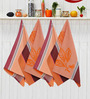 Avira Home Royal Classic Multicolour Cotton Kitchen Towel - Set of 4