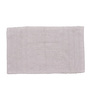 Avira Home White 100% Cotton 20 x 30 Inch Essential Door Mat