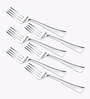 Awkenox Czar Stainless Steel Baby Forks - Set of 6