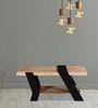 Aynak Coffee Table in Dual Tone Finish by Bohemiana