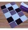 Azaani Box Purple Multi Bathmat
