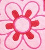 Azaani Pink 100% Cotton Bath Mat - Set of 2