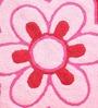 Azaani Floral Pink & Olive Green 2-piece Bathmat Set