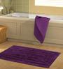 Azaani Purple Bathmat