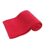 Azaani Red Polyester Single Size Blanket