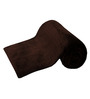 Anapolis Single Bed Blanket in Brown by CasaCraft