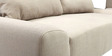 Babushka Sofa Bed In in Cream Colour by Furny