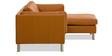 Badilene L Shape Sofa in Camel Colour by Madesos