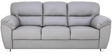 Bari Three Seater in Grey Colour by Furnitech