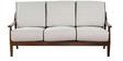 Barquisimeto Three Seater Sofa in Beige Colour by CasaCraft