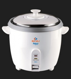 Bajaj RCX 6 White 1.8 L Rice Cooker Plus