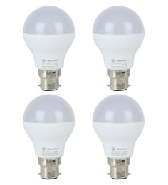 Bajaj White 5W LED Bulb Set of 4
