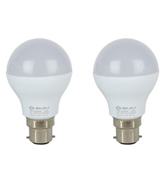 Bajaj White 7W LED Bulb Set of 2
