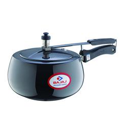 Bajaj Aluminium 3L Majesty Handi Anodised Pressure Cooker