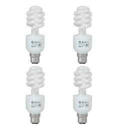 Bajaj Ecolux White 15 W CFL Light - Set of 4
