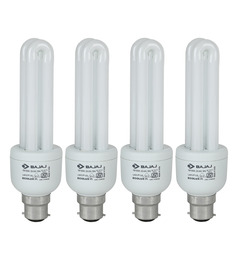 Bajaj Miniz White 15 W CFL Light - Set of 4