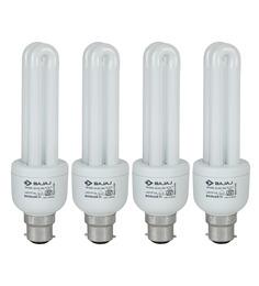 Bajaj Miniz White 15 W CFL Light - Set of 4