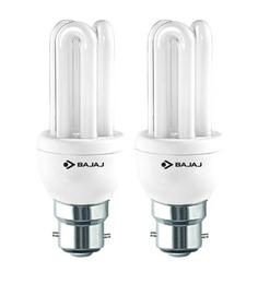 Bajaj White 5 W CFL Light - Set Of 2