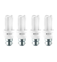 Bajaj White 5 W CFL Light - Set Of 4