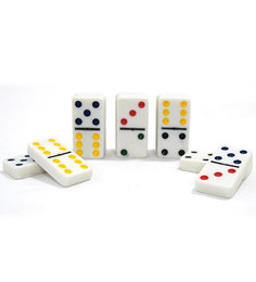 Bar World Double Colour Dot Dominoes Board Game