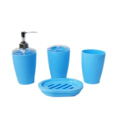 Bathroom Set Blue