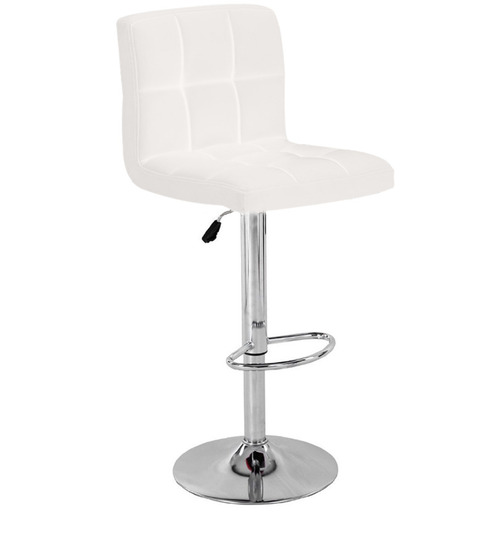 Bar Chair In White Colour By Exclusive Furniture