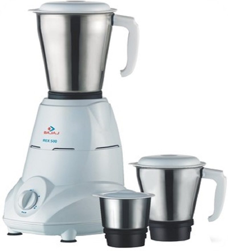 Flat 52% Off  on Bajaj Rex 500 Mixer Grinder from Pepperfry