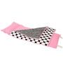 Bacati Black Dots Pink Black Nap Mat