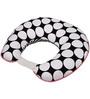 Bacati Black Dots Pink Black Nursing Pillow Cover Only