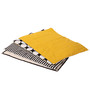 Bacati Black Dots Yellow Black 4 pc Sheet Set