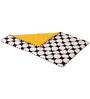 Bacati Black Dots Yellow Black Baby Comforter