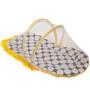 Bacati Black Dots Yellow Black Mattress with Net Small