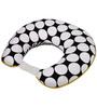 Bacati Black Dots Yellow Black Nursing Pillow